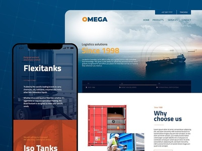 Omega Website
