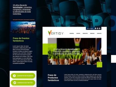 Vertigy.net Web design