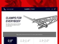 Clamps4Truss Ecommerce Platform