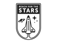 Reach for the Stars Theme Logo [option1]