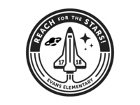 Reach for the Stars Theme Logo [option2]