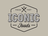 Iconic Food Logo