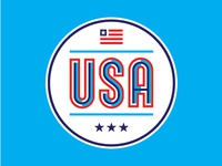 USA Badge