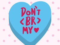 Candy hearts for graphic designers 2