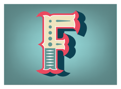 36 Days of Type: Letter F