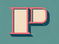 36 Days of Type: Letter P