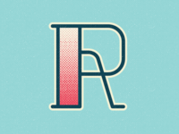36 Days of Type: Letter R