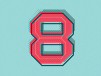 36 Days of Type: Number 8