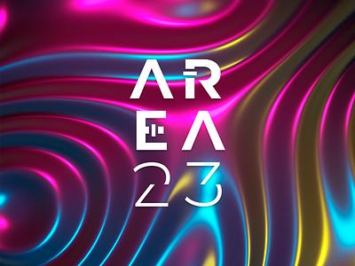Area 23 - Logo design montserrat gotham vector colors branding artist graphic-design design art direction typhography logo music
