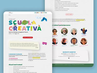 Scuola Creativa UI uiux website uidesign