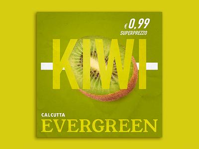 Kiwi - Calcutta vinyl bomba dischi calcutta kiwi music artist graphic-design design art direction