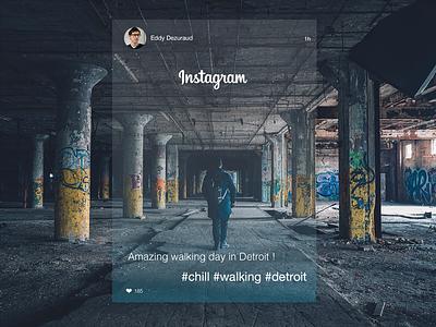 Instagram redesign concept first shot webdesign design post instagram redesign