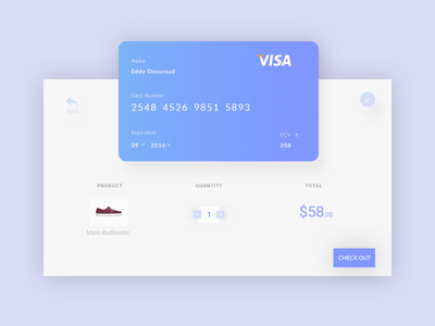Credit Card Checkout credit ui pay checkout card daily redesign