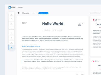 Dashboard redesign with floating menu floating menu admin administration redesign dashboard