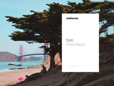 San Francisco Card - California Road Trip photo ueno castro peace trip san francisco photography photo california