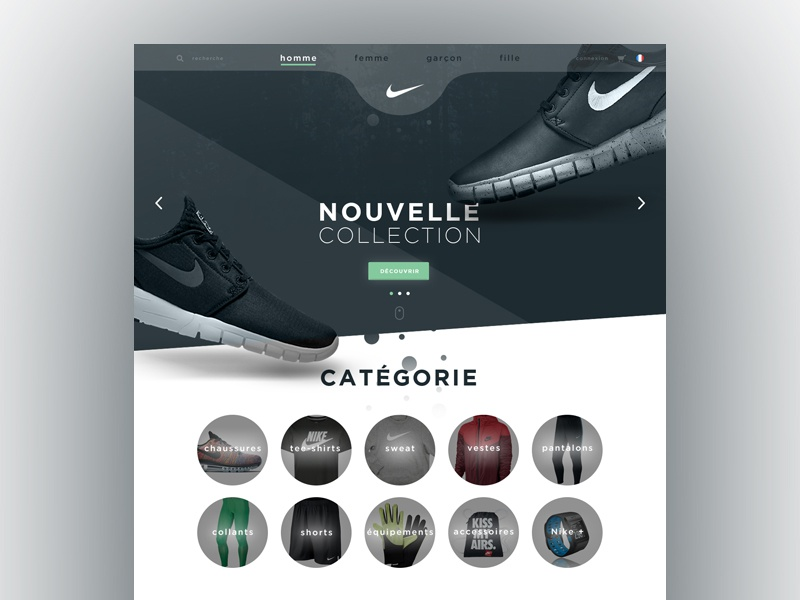 online store 32ac8 d8581 Nike. by Guillaume Sauzey