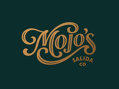 Mojo's lettering type