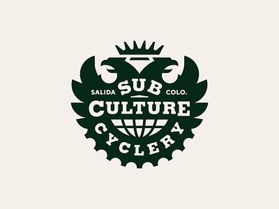 SubCulture Cyclery bike colorado logo