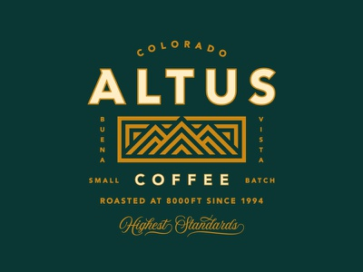 Altus Coffee Rebrand