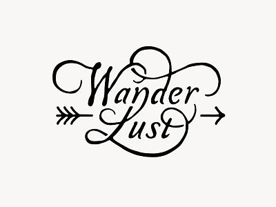 WanderLust lettering