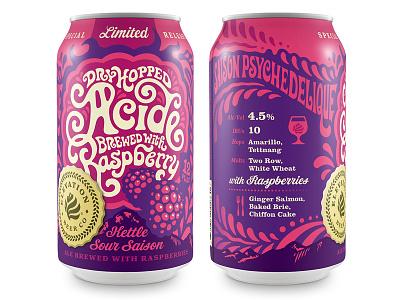 Raspberry Acide Can
