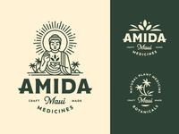 Amida Maui Logo