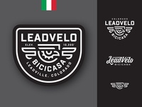 Leadvelo Bicicasa Logos bicicasa crest eagle branding cyclery badge logo