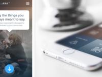 Krystalark Mobile App Design