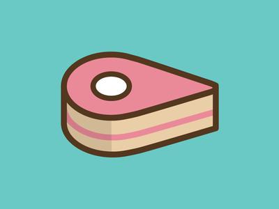 Bakery App Icon wip app line cake bakery branding logo icon