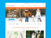 Oxyfresh Homepage