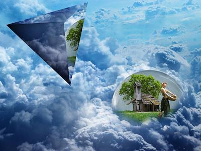 Bubble world digitalart edit photoshop art photoshop