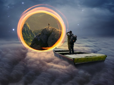 Portal digitalart edit creators photoshop art photoshop