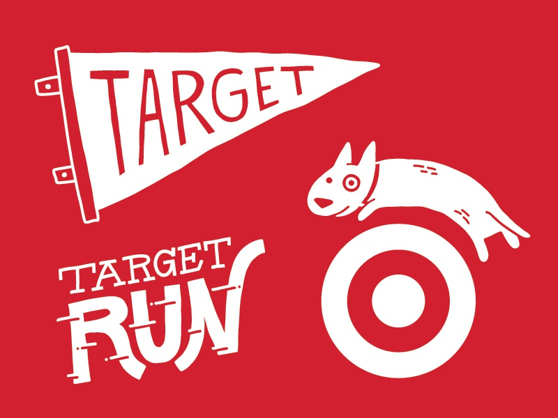 Target Wallpaper Illustrations by Ashley Hohnstein on Dribbble