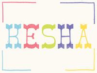 Kesha Lettering