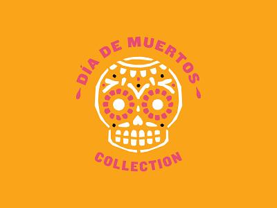 Día De Muertos Branding color cut paper papel picado sugar skull skull packaging logo branding calavera day of the dead dia de muertos