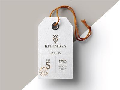 Kitambaa Clothing Tag  design logo branding