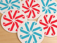 Umbrella Bar Coasters