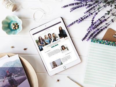 Finding Hope Website Design hope support groups website design