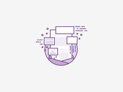 Mail Templating Illustration chriskonings flexible mail email illustration template letter