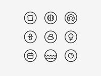Itaca's services icons