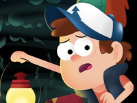 Into The Treehouse, Dipper close-up