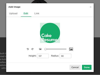 CakeResume Image Cropper rotate resize image cropper image uploader cakeresume image cropper