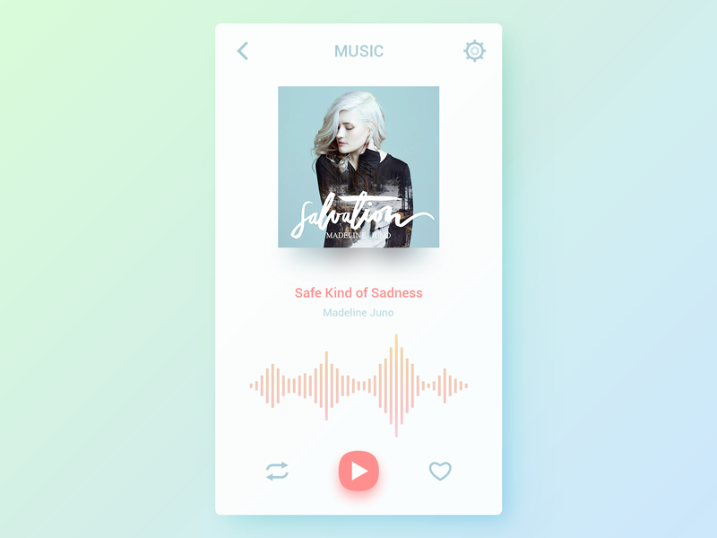 Music Player by Maxvision | Dribbble | Dribbble