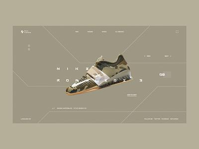 Sneaker Store nike buy shop store sneaker web interface clean ui design