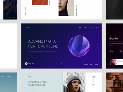 MY 2018 TOP9 2018 top transitions studio animation web interface clean ui design