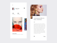 Photography App Interface