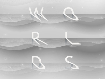 Worlds type wip worlds experimental 200bg gray waves mountains