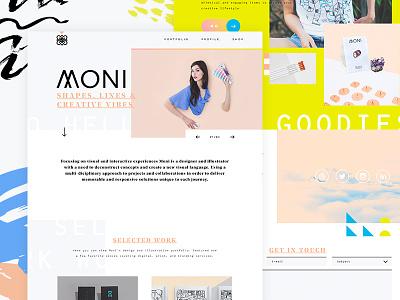 Galaxy No. 3 portfolio custom minimal site css animation development code design website