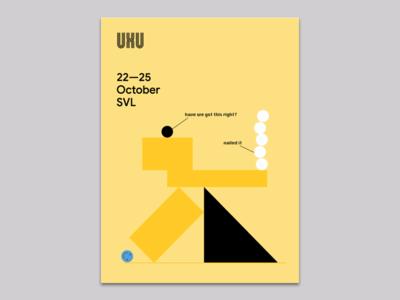 UXU Posters graphic design goodtimes illustrator design ux vector google illustration