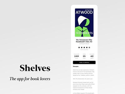 Shelv3s. The app for book lovers swift goodreads apple